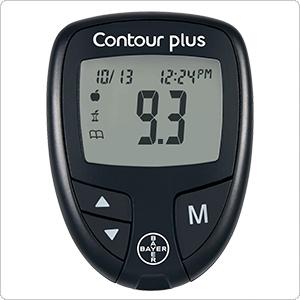 Глюкометр Контур Плюс для пожилого человека