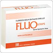 Флюоресцеин низкомолекулярный (Fluo Strips) офтолик