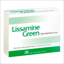 Лиссамин зеленый (Lissamine Green) офтолик