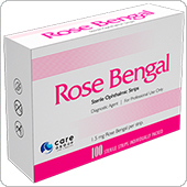 Офтальмологические тест-полоски Rose Bengal (Rose GLO) — тест-полоски Rose GLO.