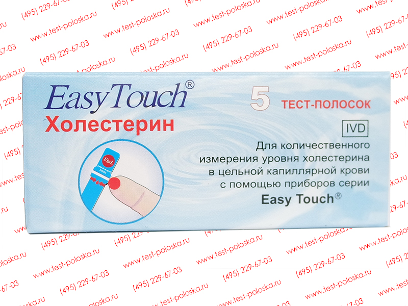 Easy touch gc тест полоски