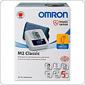 Автоматический тонометр Omron M2 Classic с универсальной манжетой